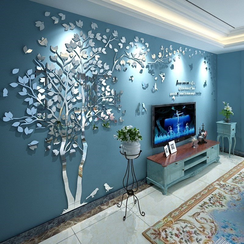Wholesale Acrylic Laser Cutting 3D Wall Art Home <strong>Decor</strong>