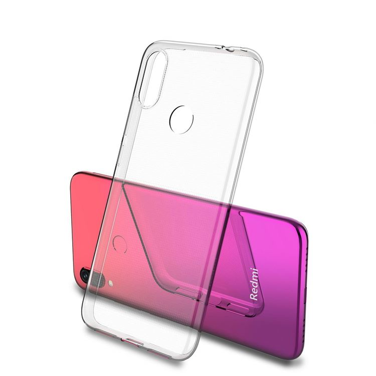 Ultra Thin Crystal Clear Soft TPU Phone Case For Xiaomi Redmi <strong>Y3</strong>