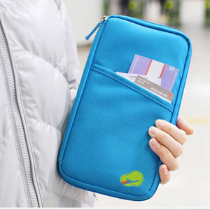 Passport Holder Ticket Wallet Handbag ID Credit Card Storage Bag Organiser