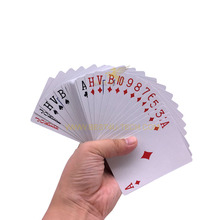 P0001D Wholesale Personalized Adult Cheap Planning Joker Poker Chinese Card Game Jumbo Paper Custom Playing Card Set