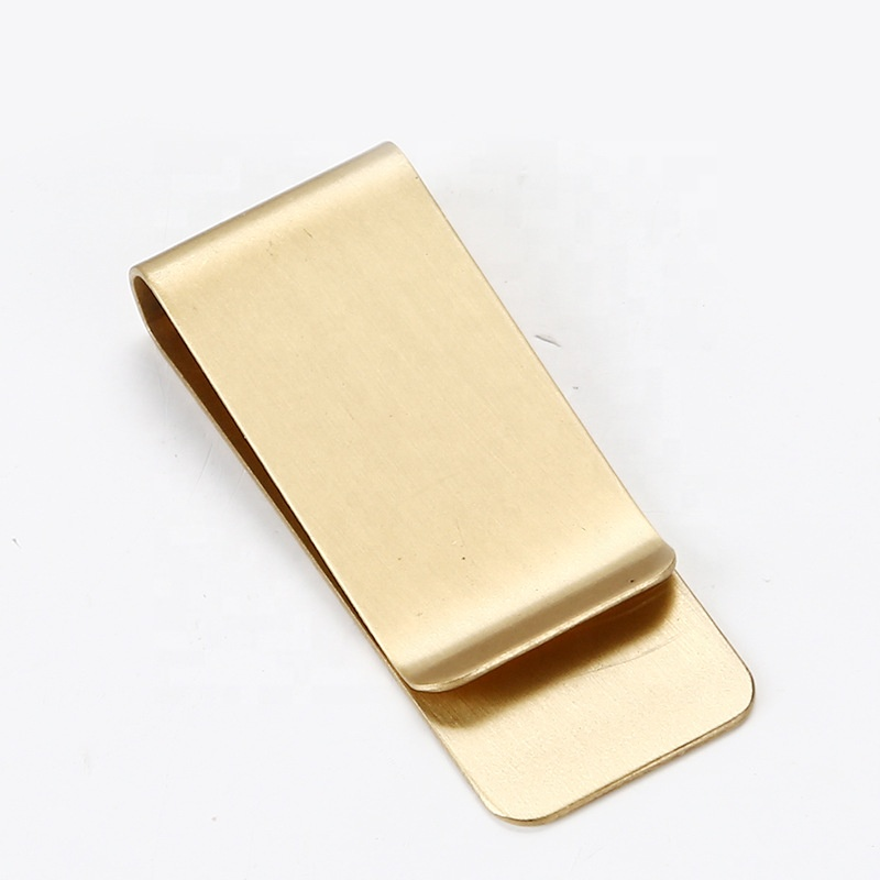 Wholesale Men Brass Material Business Simple Classic Money Clip <strong>Metal</strong>