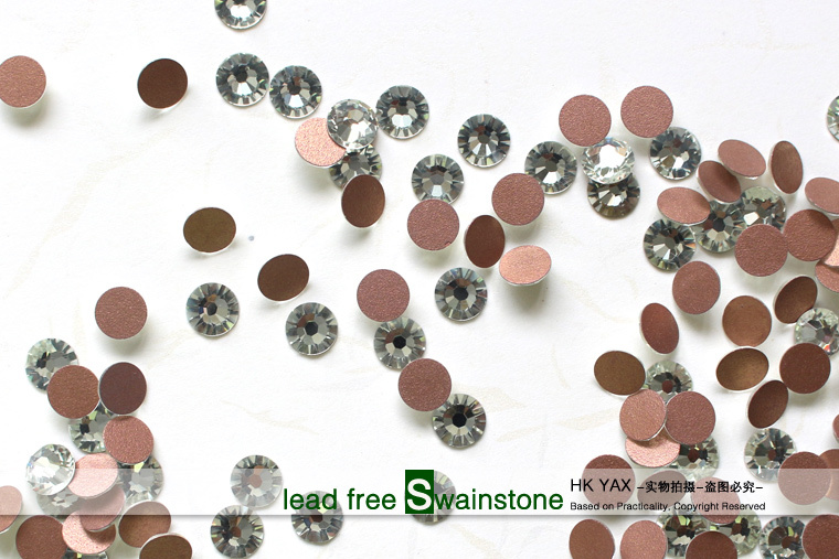 S0816 non hotfix rhinestone China Swainstone Flat Back Lead Free Non Hot Fix Rhinestone For Nail Art Design