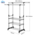 High quality telescopic single pole clothes hanger stand