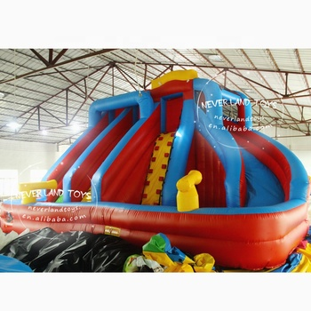 NEVERLAND TOYS inflatable slide inflatable combo Inflatable amusement park for funny