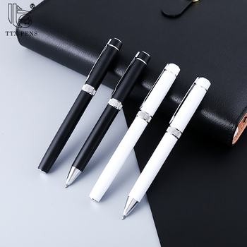 Factory Supply Wholesale Exquisite Rolling Stainless Steel Metal Ball Point Pen