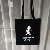Sedex 4p cheap black custom logo cotton promotional gift bags