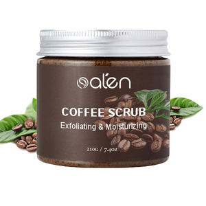 Private Label 100% Natural and Organic Ingredients Coffee Scrub for Face and Body