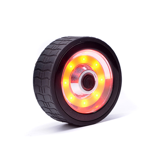 2018 newest led keychain car tyer round wheel style cob magnetic work light