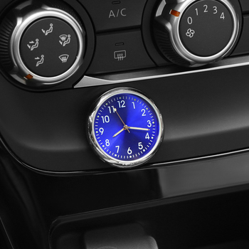 Car Decoration Electronic Meter Car Clock Timepiece Automobiles Sticker Watch Interior In Car Accessories