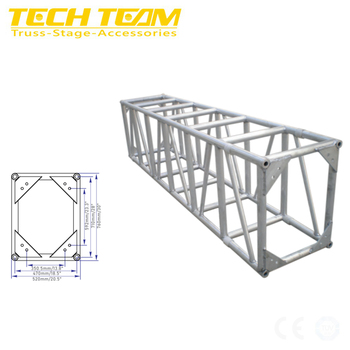 Outdoor Event Stage Truss Lighting Aluminum Truss Display