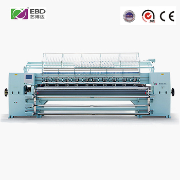 "128""3 New Arrival High Speed Computerized Multi Needle leather sewing quilting machine"