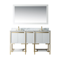 Homedee high quality Stainless steel luxury vanity bathroom