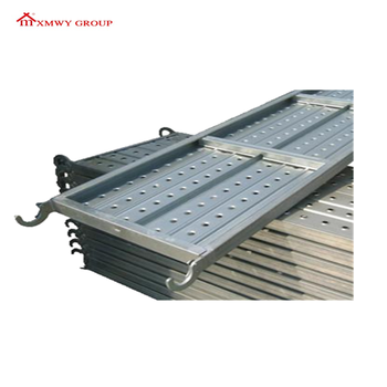 Building Steel Scaffolding/Hot Dip Galvanized Construction Scaffolding platform/steelplank