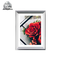 silver anodized brushed <strong>10</strong> <strong>x</strong> 8 aluminum picture photo frame