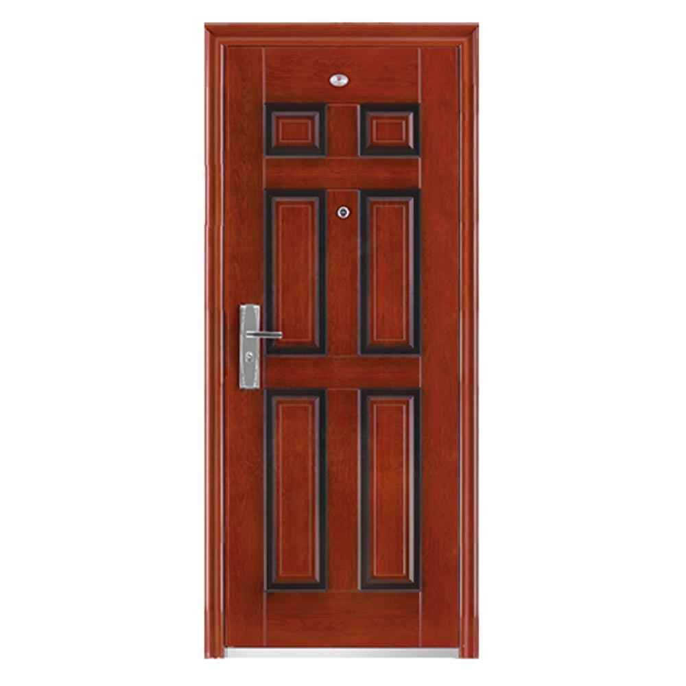XSF Low Price Cheap 6 Panels Steel <strong>Door</strong>