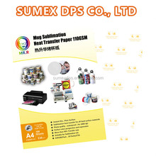 Factory direct supply A3 A4 sublimation inkjet transfer <strong>paper</strong> for mug