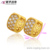 27440 xuping Environmental Copper elegant simple design 24k gold Luxury women's earring