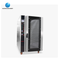 Electric/Gas convection bread oven for bakery equipment commercial bakery multifunction deck oven