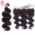 Best 100 Percent Raw Indian Remy Human Body Wave Hair 13x4 Transparent Lace Frontal Closure Piece
