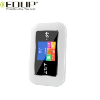 4G LTE ZX297520V3 Mini Color Screen 300Mbps WiFi Router Mi-Fi