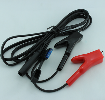 Topcon Alligator clip to SAE battery power cable