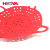 New design safe red four Handles cookware vegetable Silicone Food Steamer / Steamer/Bamboo steamer