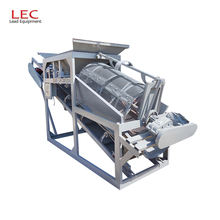 100-120m3/hour Drum Sieve Shaker Circular Screen Sieving Machine Quarry Rotary Vibrating Separator For Construction Use