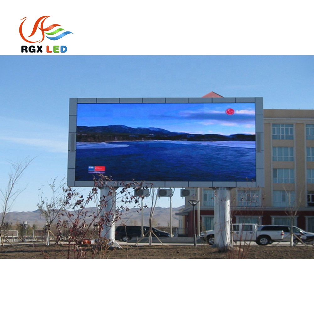 RGX Double <strong>Led</strong> Pillar Mounted Stand <strong>Display</strong> Screen Use P3 P4 P5 P6 P8 <strong>P10</strong> Panel <strong>Advertising</strong> Outdoor <strong>Led</strong> Large Screen <strong>Display</strong>