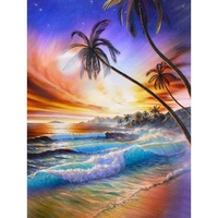 2019 Custom Wholesale 3D Diy Diamond Painting Printed Artwork