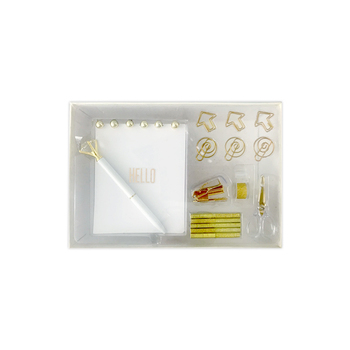 Gason 2019  Golden Stationery Gift Kit School Office Supplies Stationery Sets of 18 Gift Items Office Products
