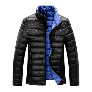 LS502 Cheap fashion design adults man feather down jacket for the winters
