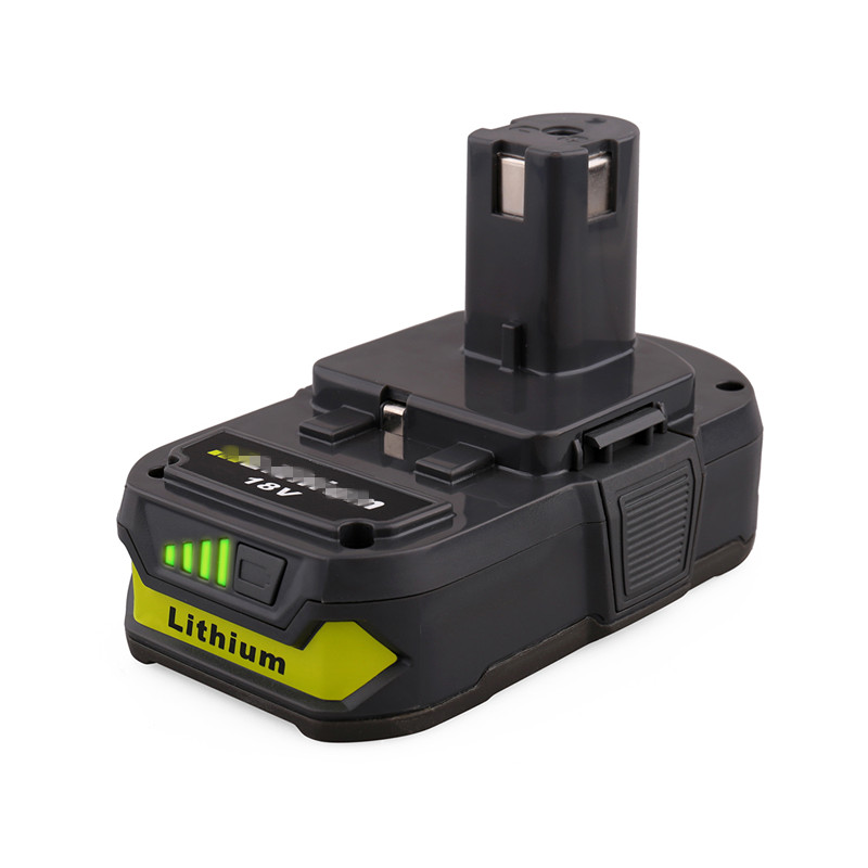 Rechargeable battery 18V 2.0Ah Lithium Battery Pack Suitable for Ryobi 18-Volt ONE+ P104 P105 P102 <strong>P103</strong>