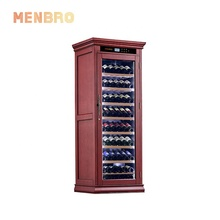 Modern Mid century home luxury thermostatic whiskey wine refrigerator furniture electronic wine cooler cabinet
