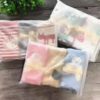 Cotton Kids Towel Face Hand Cartoon Cute Baby Soft Christmas Gift Promotion Children Bath Towel