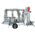 mobile wheat cleaning machine with double air screen
