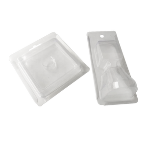 Custom Made Clear PVC Clamshell Box