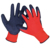 OEM Supply safety industrial latex working gloves,Latex work gloves,Wholesale and professional work gloves