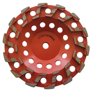 4.5''inch double row diamond cup wheel  high quality 5''inch and more