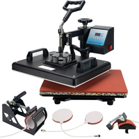 heat press machines personalized gift making machine t shirt sublimation printing 5 in 1
