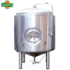 60bbl jacketed conical fermentation tanks bright beer tank for industrial brewery
