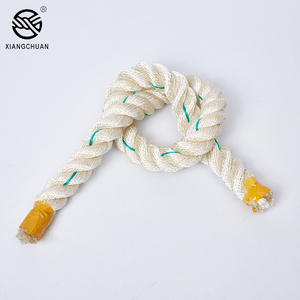 Factory supply high strength 26mm 3 strands polypropylene rope