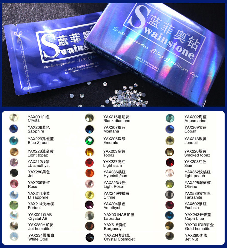 S0804 FREE SHIPPING!!! Top Quality SS20 AB Crystal Color Hotfix Strass Crystal 1440Piece/Bag transfer rhinestone ss4 ss6 8 10 12