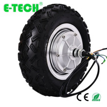 CE <strong>10</strong> inch gearless DC brushless ETECH electric wheel hub motor