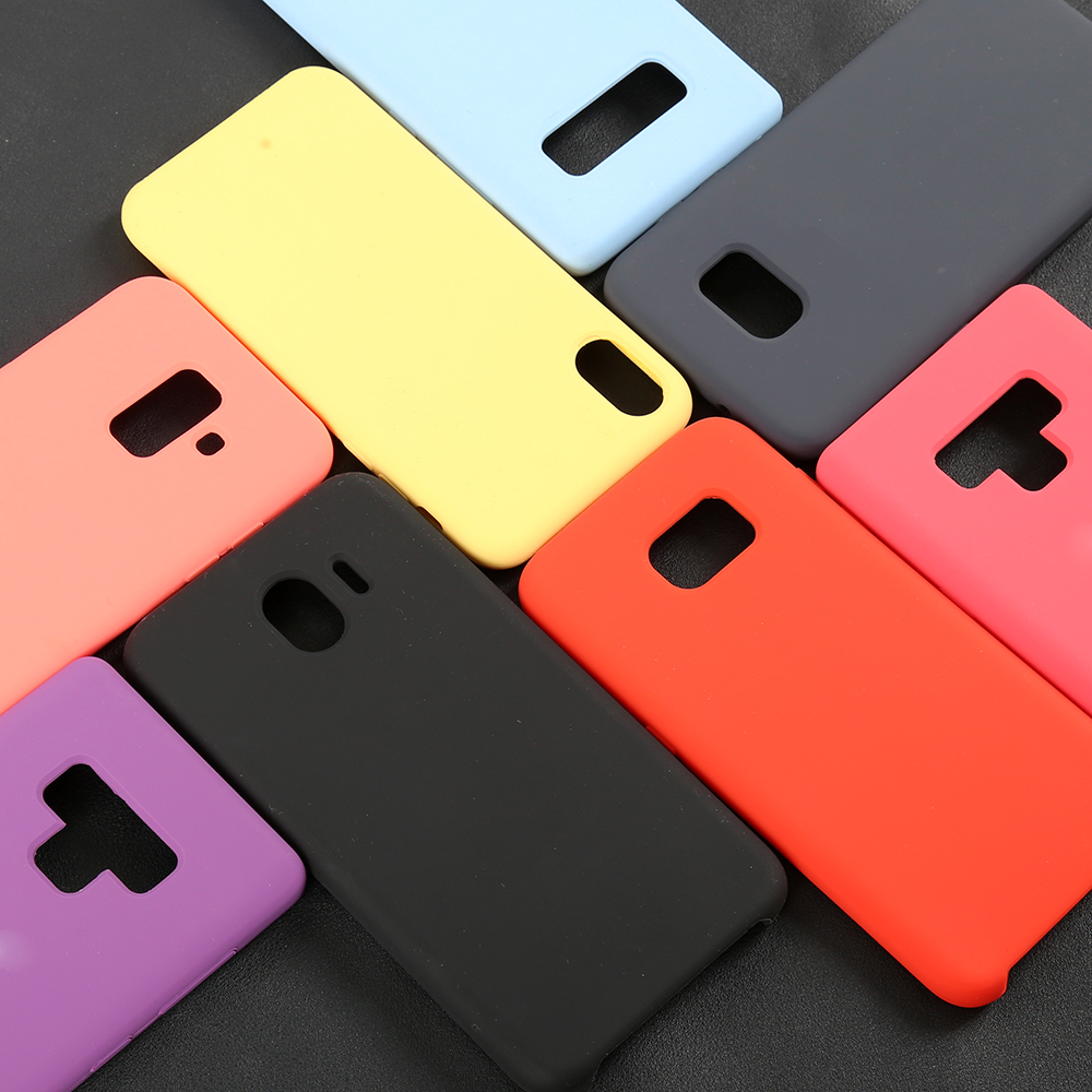 Luxury Microfiber Liquid Silicone Original Quality Phone Case For Samsung Galaxy A30 A20 <strong>A10</strong>