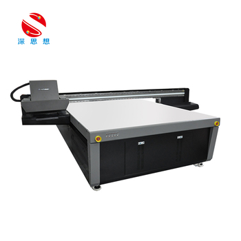 Gen5 print head uv flatbed printer 2030 for advertising printing, ceramic leather printing high quality UV flatbed printer