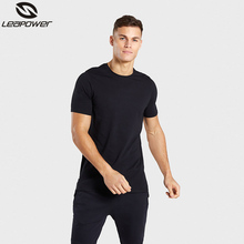 OEM wholesale INS new style hot sale black plain <strong>apparel</strong> <strong>men</strong> loose fit T-shirt ribbon radian hem o-neck tee screen printed logo