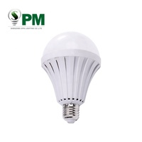 Hot selling e27 rechargeable emergency led light bulb 5w 7w 9w 12w solar powered bulb