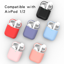 2019 NEW Products Wholesale price for airpod 1/2 Silicone <strong>Case</strong>, 16 colors