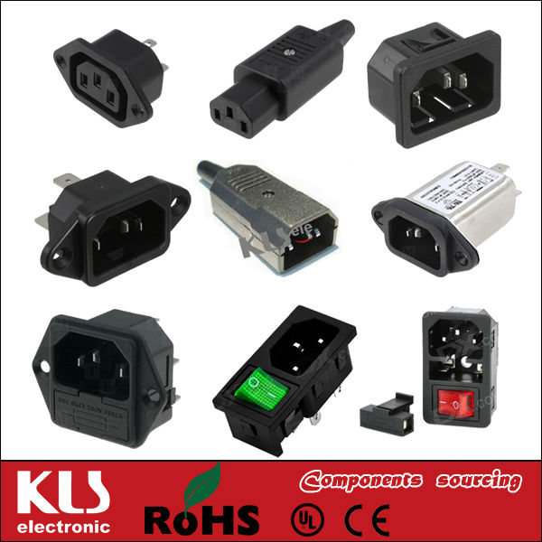 Good quality 2.54mm female header connector 54 pin CE ROHS 511 KLS brand