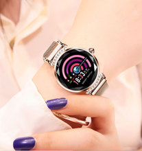 Ladies H2 Fashion <strong>Smart</strong> <strong>watch</strong> Color Screen <strong>Smart</strong> Bracelet Heart Rate Monitor IP67 Waterproof <strong>Smart</strong> <strong>Watch</strong> Women